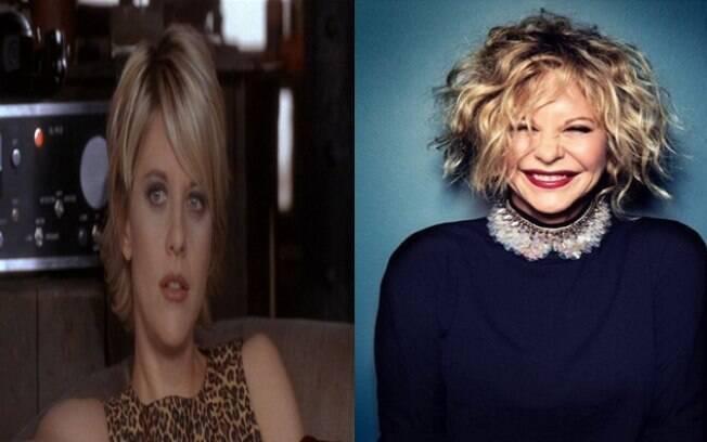 Antes e depois de Meg Ryan aplicar botox