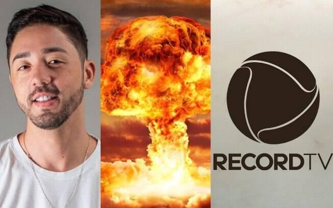 Rico Melquiades e Record TV