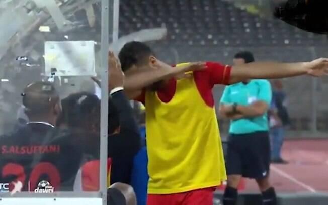 Jogador do Al Najoom FC, da Arábia Saudita, comemorou igual ao Pogba e agora pode ser preso