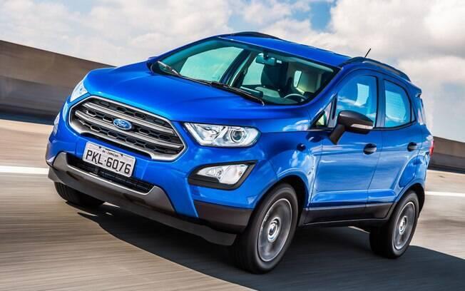 Ford EcoSport 2018 ganha cara nova, que inclui grade frontal ativa e faróis auxiliares de neblina em todas as versões