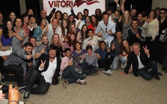 Elenco da novela 'Vitória', da Record