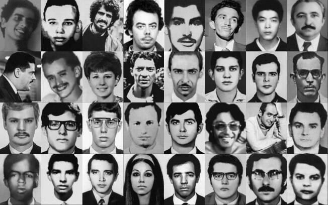 Fotos de alguns dos mortos no DOI-Codi/SP