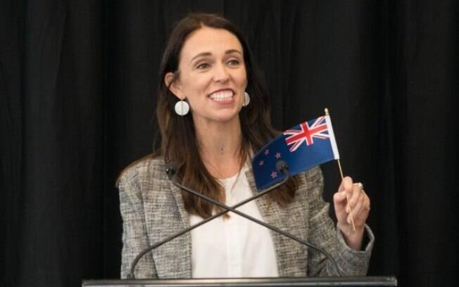 A primeira-ministra da Nova Zelândia levou sua filha de três meses para a Assembleia Geral da ONU, nos EUA