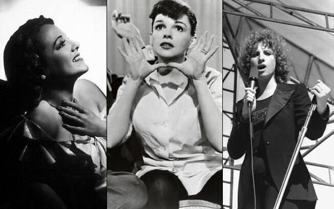 Janet Gaynor, Judy Garland e Barbra Streisand: o mesmo papel de Beyoncé