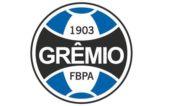 O escudo oficial do Grêmio