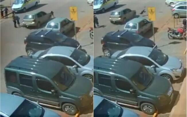 Menino foi atropelado ao atravessar a rua correndo na faixa de pedestres