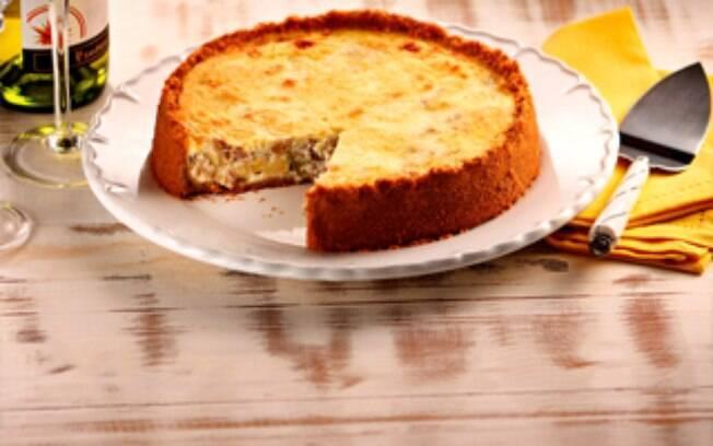 O cheesecake de atum é um tipo de torta salgada gostosa