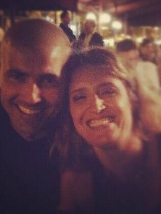 Reynaldo Gianecchini e Núbial Maciel: