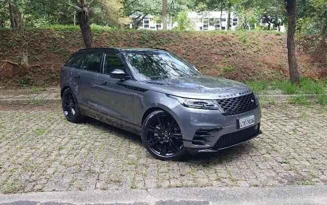 Eis a linha de design que a próxima geração do Range Rover Evoque seguirá, entretanto, menor que o Velar (foto)