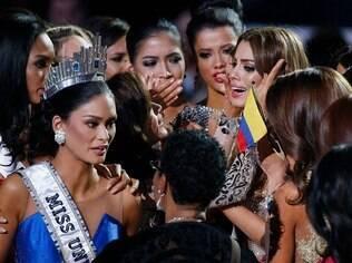 Ariadna Gutierrez foi coroada após um erro do apresentador do Miss Universo