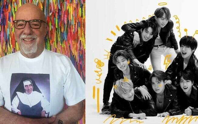Paulo Coelho e BTS