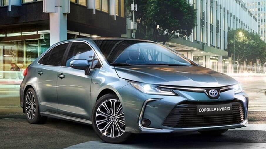 Toyota Corolla Altis é o primeiro modelo híbrido nacional; versão que parte de R$ 146.390 corresponde a 25% do mix do sedã