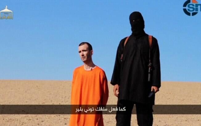 Vídeo mostra decapitação do refém britânico David Haines, que era voluntário na Síria e foi morto em 13 de setembro de 2014. Foto: Reuters