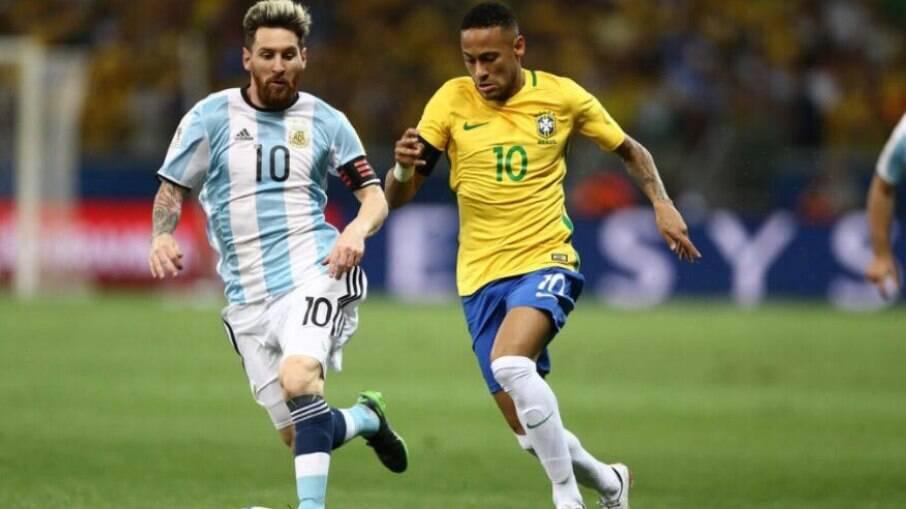 Brasil e Argentina vão decidir o título da Copa América