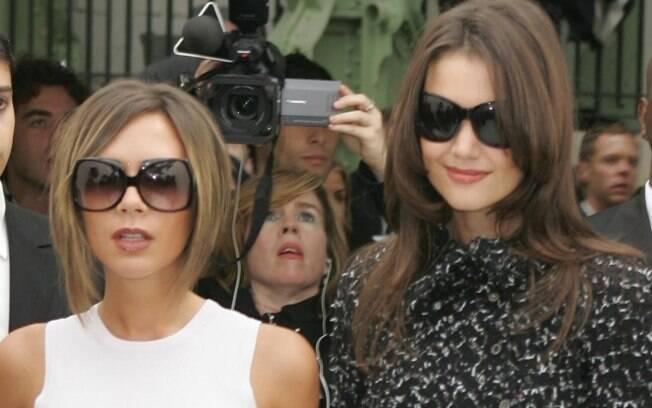 Victoria Beckham e Katie Holmes em 2006: amigas e confidentes