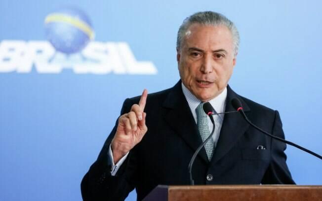 Presidente Michel Temer anuncia, nesta segunda-feira (30), reajuste no Bolsa Família, mas não menciona valores