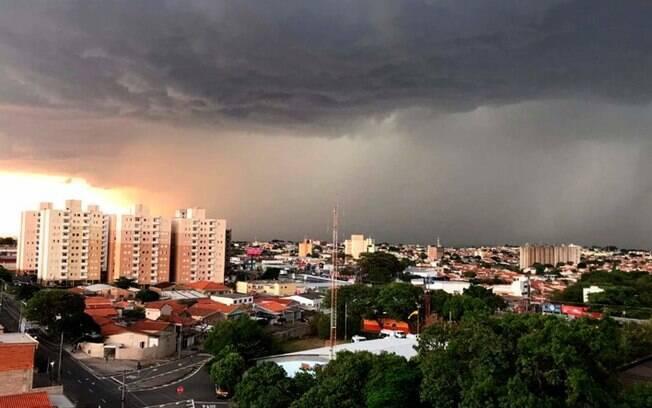Chegada de frente fria trará tempestade severa em Campinas, alerta Defesa
