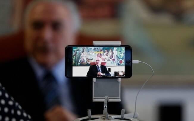 Declaração do presidente Michel Temer foi feita por meio de vídeo publicado nas redes sociais do Planalto