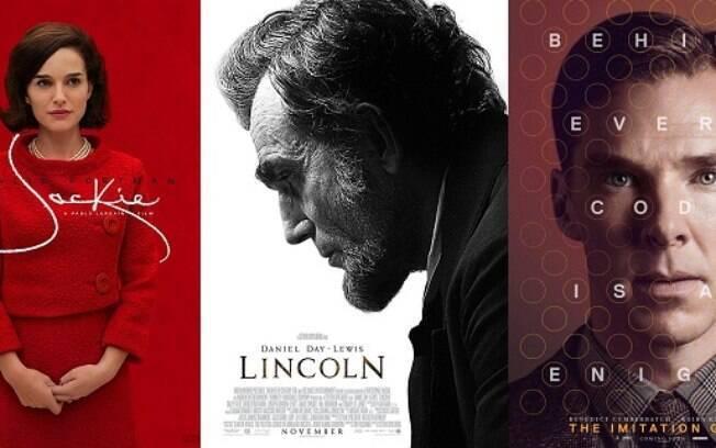 Biografias são sempre fortes concorrentes no Oscar, tanto como Melhor Filme como nas categorias de atuação