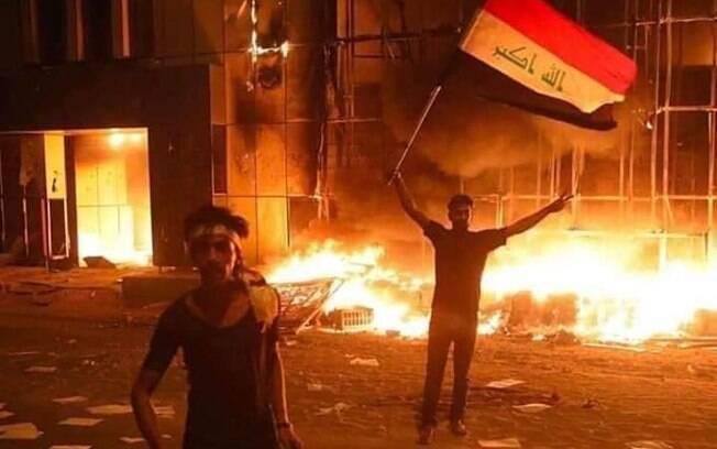Ataque contra manifestantes no Iraque mata ao menos 18 pessoas