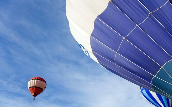 Mude a sua rotina com um passeio de balão