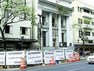 Sondagens para a elaboração do projeto de estações subterrâneas foram iniciadas ainda em 2012