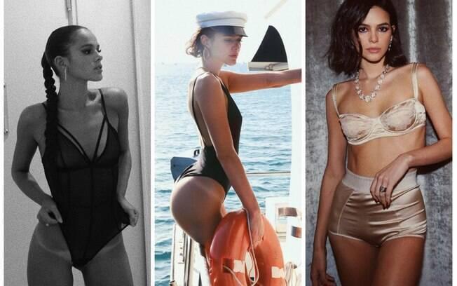Bruna Marquezine foi uma das musas de 2018 e desfilou sua beleza pelo mundo
