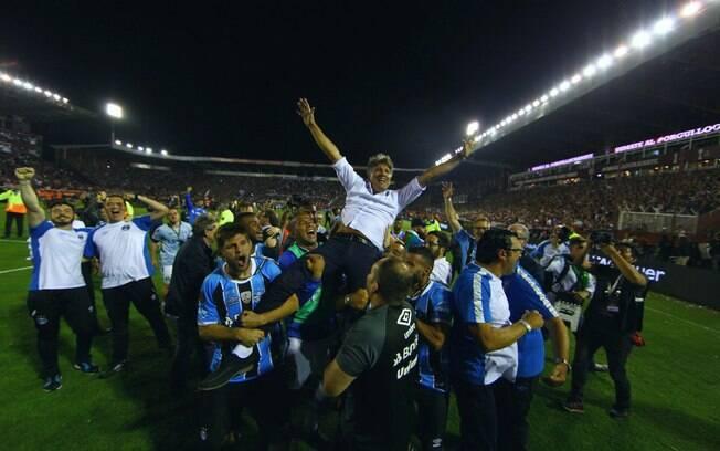 Grêmio foi o campeão da Libertadores de 2017
