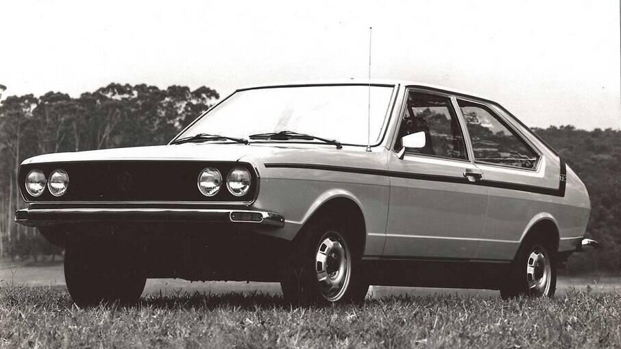VW Passat TS era diferenciado das demais basicamente pelo conjunto de faróis duplos.
