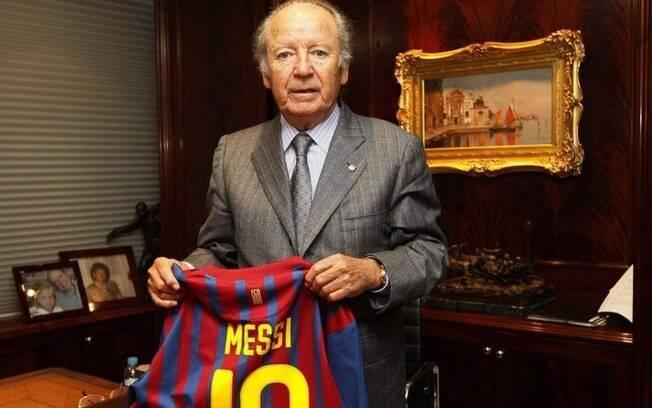 Josep Lluís Núñez, ex-presidente do FC Barcelona