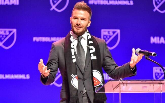 David Beckham é dono do Inter Miami
