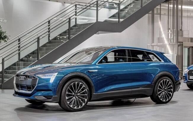Audi h-tron: protótipo é fruto da parceria com a Hyundai no desenvolvimento de modelos elétricos
