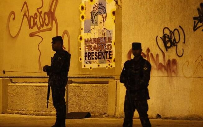 Cerca de 200 homens do Exército prestaram apoio à reconstituição da morte de Marielle Franco e de Anderson Gomes