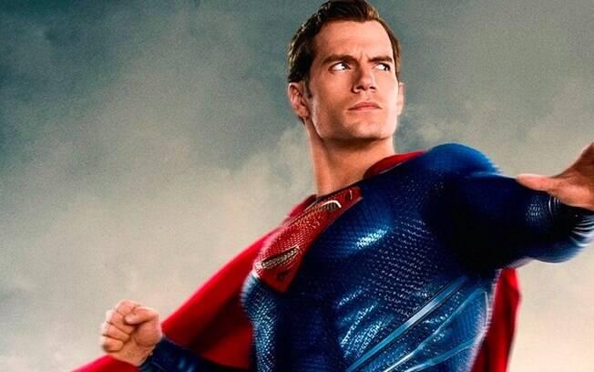 Henry Cavill é conhecido por dar vida ao Superman