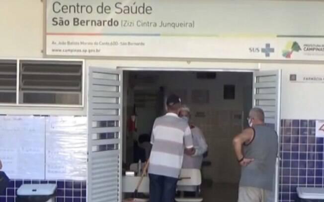 Covid-19: CSs de Campinas recebem 118 pacientes neste feriado