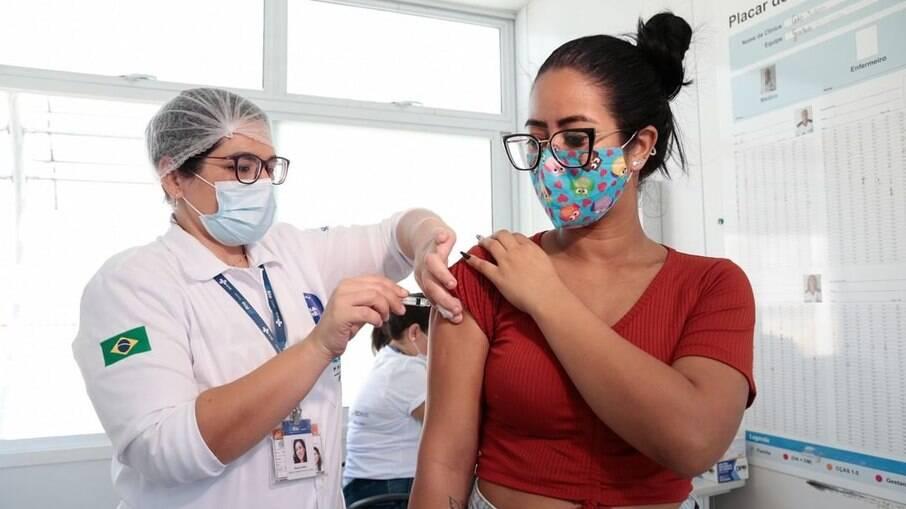 Campanha de vacinação na cidade do Rio de Janeiro