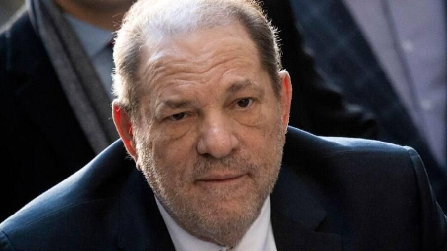 Harvey Weinstein está preso em Nova York