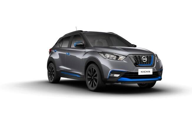 Nissan Kicks Rhythm, versão conceitual do SUV que estará no Salão do Automóvel 2018, entre 8 e 18 de novembro