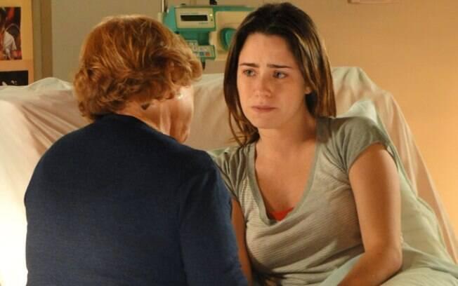 Sempre presente, Iná vai ajudar a contar a verdade para Ana e amenizar a crise na família