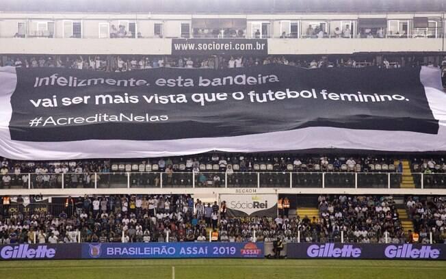Federação Paulista, Santos e Uber se unem para levantar bandeira em prol do futebol feminino no Brasil