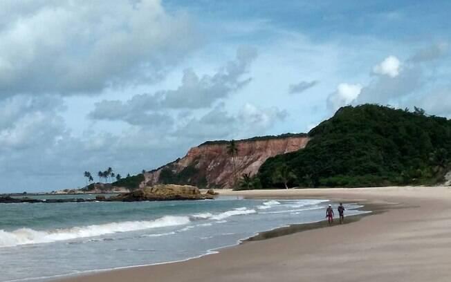 A praia do Tambaú é uma das mais bonitas e mais movimentadas de João Pessoa
