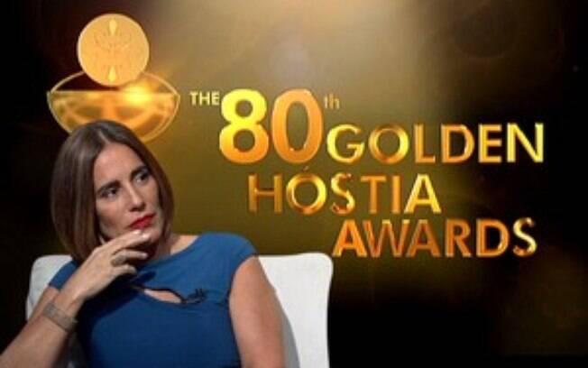 Gloria Pires foi comentarista do prêmio