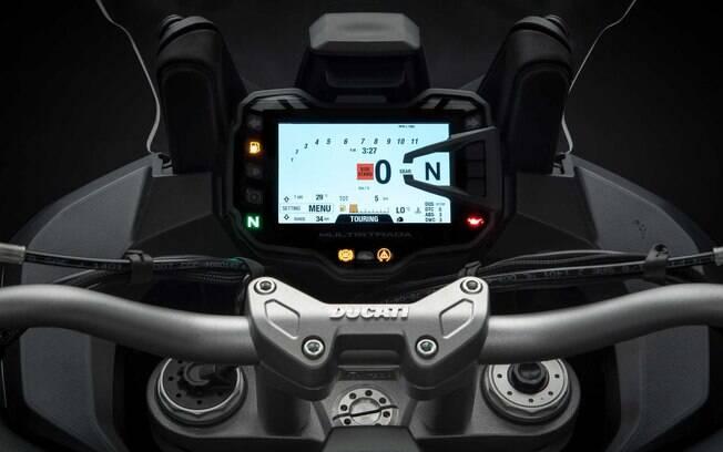 A 1260 S tem quatro modos de pilotagem, Sport, Urban, Touring e Enduro