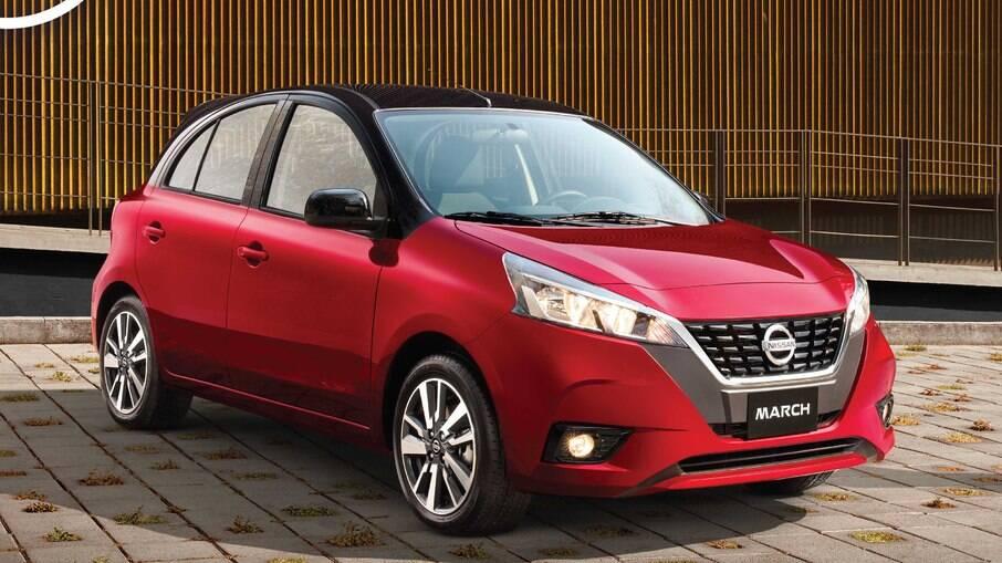 Nissan March mexicano estreia novo visual e novos equipamentos de segurança
