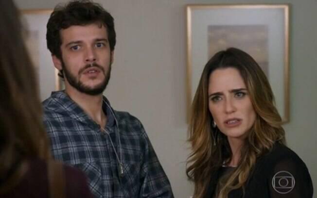 Bruna se descontrola e ameaça Giovanni de prisão