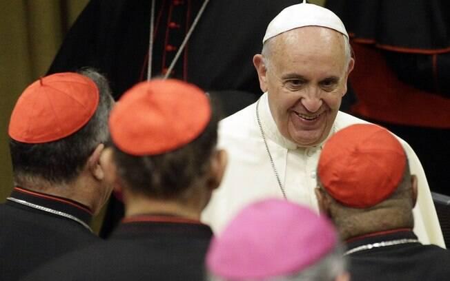 Papa Francisco recebeu o transexual espanhol Diego Neria Lejarraga no último sábado (24) em encontro privado