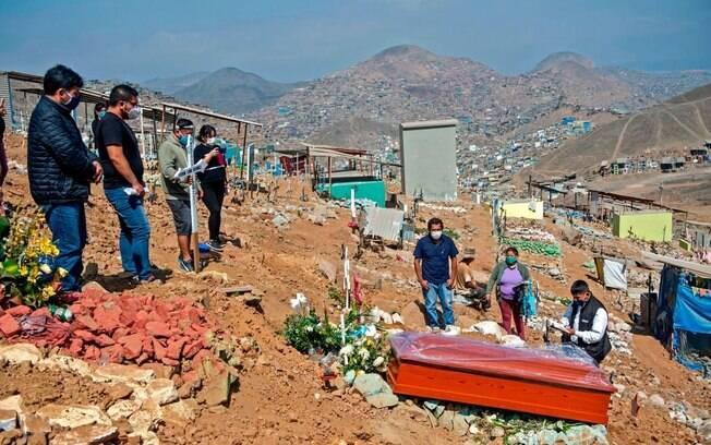 Peru preocupa por aumento de número de óbitos