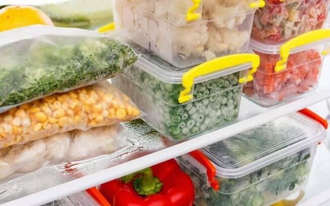 6 dicas para congelar todos os tipos de alimentos