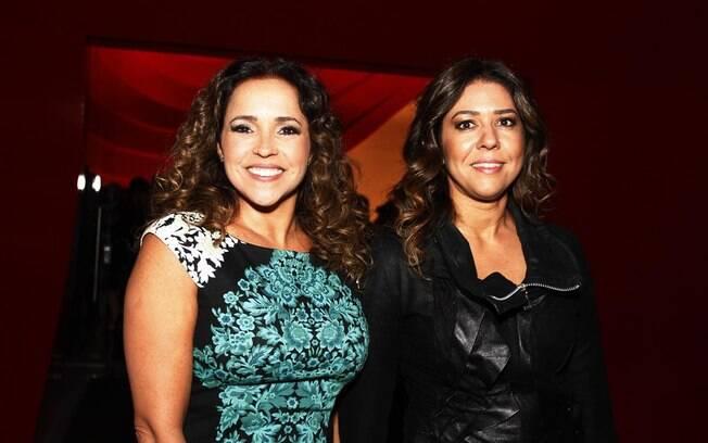 Daniela Mercury e Malu Verçosa no Prêmio Trip Transformadores