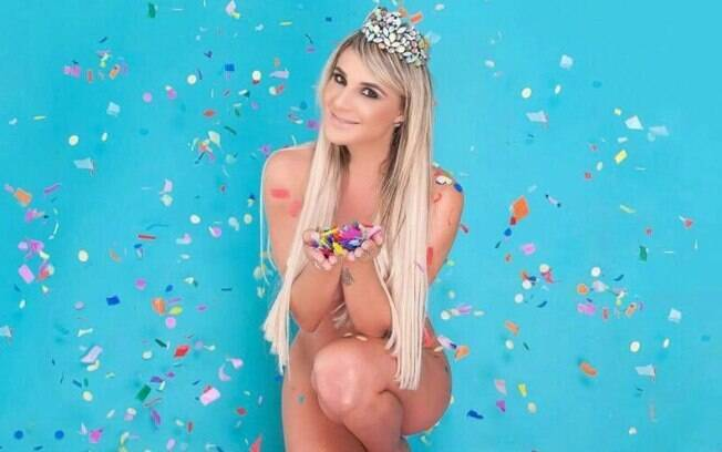 Jordana Guimarães é a nova estrela do carnaval do Rio.